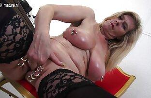 FILF-Liza e Lily partilham porno em directo a pila do padrasto durante um filme chato.